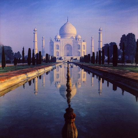 THE TAJ MAHAL (Illustration) Ancient Places and/or Civilizations Biographies Famous People Philosophy Poetry Social Studies World History Film