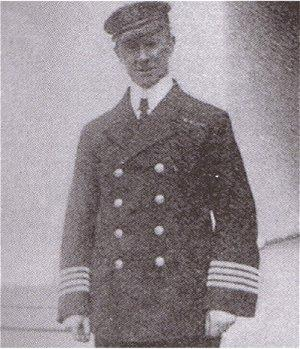 Arthur H. Rostron, captain of the ocean liner RMS Carpathia when it rescued victims of the RMS Titanic disaster
