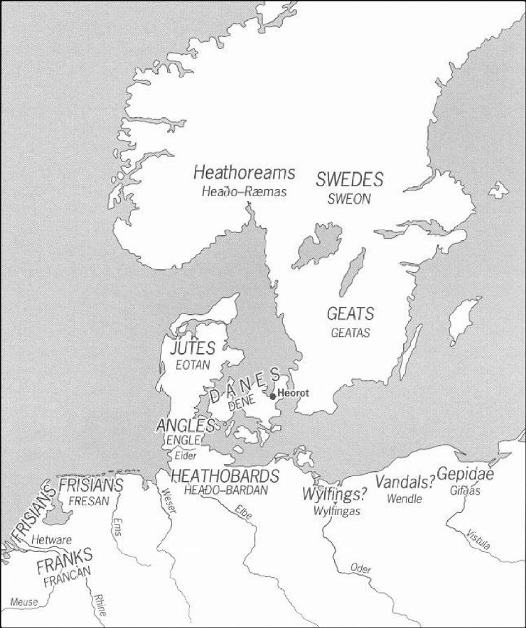 Map: Location of Geats, Danes and Swedes on ancient greek myth odysseus map, danes map, halland sweden map, beowulf map, bastad sweden map, birka on the map, anglo-saxon english language map, citrus jeep trail map, northern sweden map, geats map, rome invaders map, hero plot map,