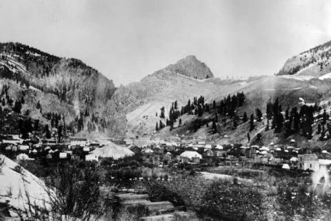 Town of Creede, Nestled in the Rockies Nineteenth Century Life Legends and Legendary People Geography