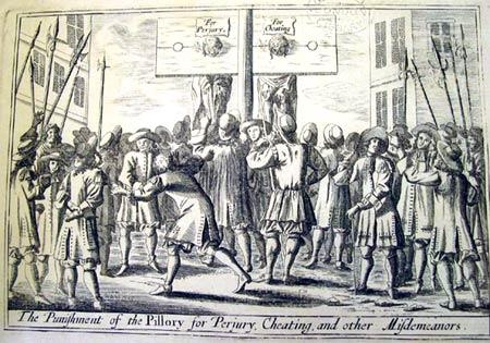 Pillory - Punishment for Cheating, Perjury & Other Misdemeanors American History Tragedies and Triumphs Government Social Studies