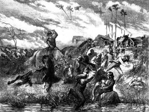 Peshtigo - Fleeing the Fire American History Disasters Social Studies Nineteenth Century Life Tragedies and Triumphs