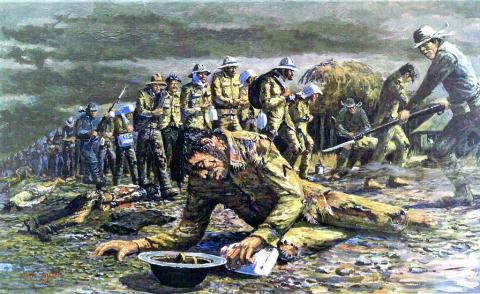 Bataan Death March - Fallen Soldiers American History Famous Historical Events Social Studies World War II Disasters