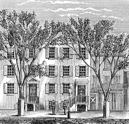 Peterson Boarding House Near Ford's Theater, D.C. Visual Arts American History American Presidents Famous Historical Events Famous People