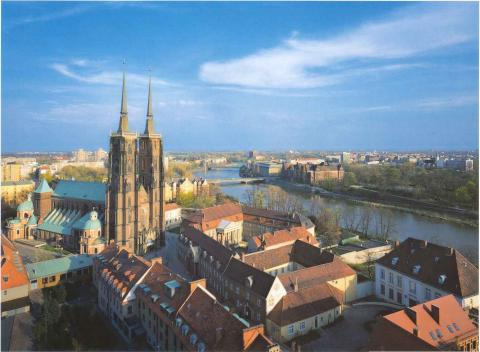 View of Wroclaw American History Awesome Radio - Narrated Stories Social Studies Geography