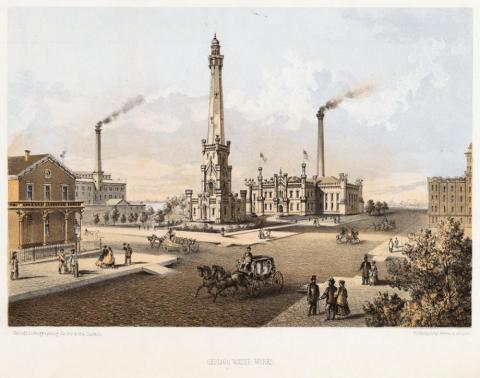 Chicago Water Works - Before the Fire American History Social Studies Tragedies and Triumphs Nineteenth Century Life