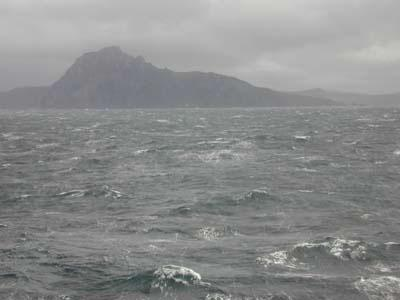 Cape Horn - Unsettled Sea (Illustration) Disasters Geography Visual Arts World History Tragedies and Triumphs