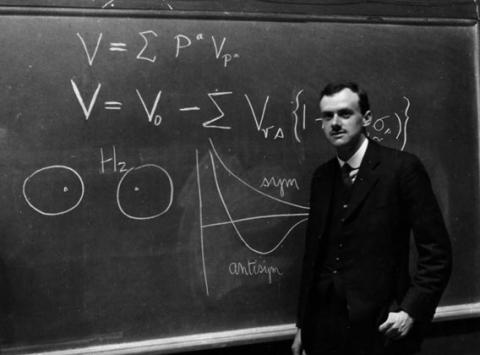 Paul Dirac the discoverer of Antimatter