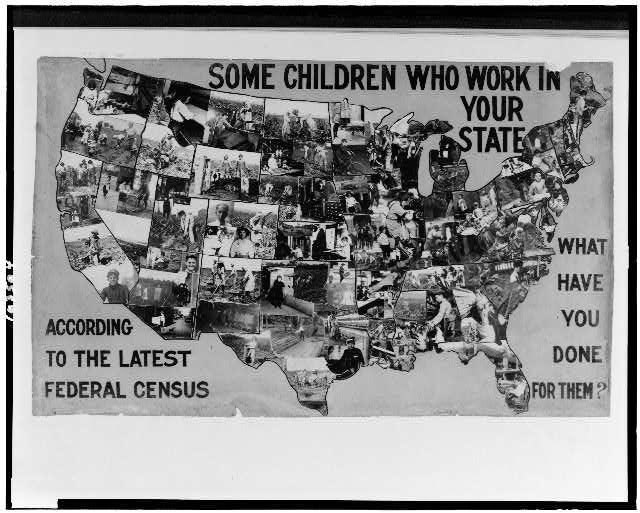 child labor exhibit panel