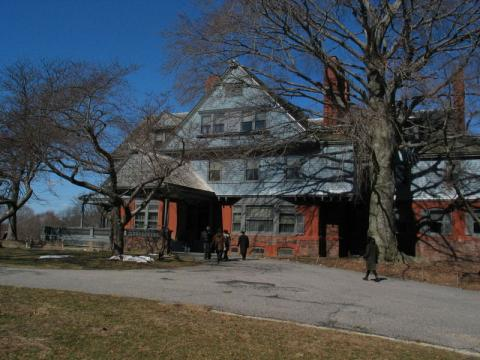 Sagamore Hill in Oyster Bay, New York home of Theodore Roosevelt
