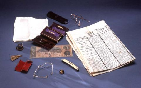 Items in President Lincoln's Pockets When He Was Assassinated American History Assassinations Nineteenth Century Life American Presidents