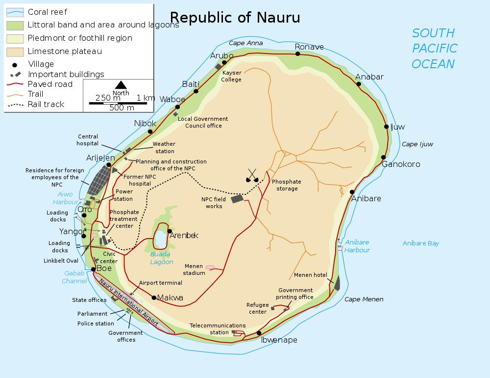 Nauru  Japans Source of Phosphate during WWII