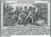 Northern Black Freemen Enslaved by White Northerners