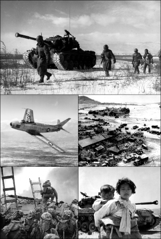 American Forces - Scenes From Korea Cold War American History Social Studies