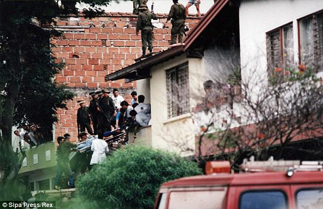 Death Of Pablo Escobar In Medellin