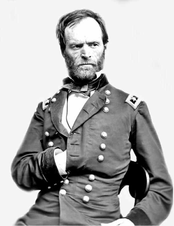 a look at the role and significance of general sherman in the american war Ch 16 learning curve a historic first in american history best characterizes the role of general william tecumseh sherman in the post-civil war.