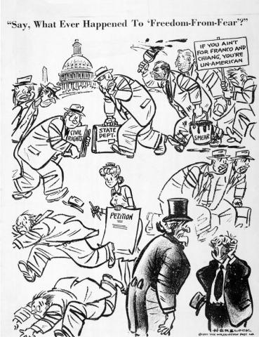 Political Cartoons (Illustration) American Presidents Censorship Famous People Government Law and Politics Social Studies Visual Arts Famous Historical Events History Trials American History