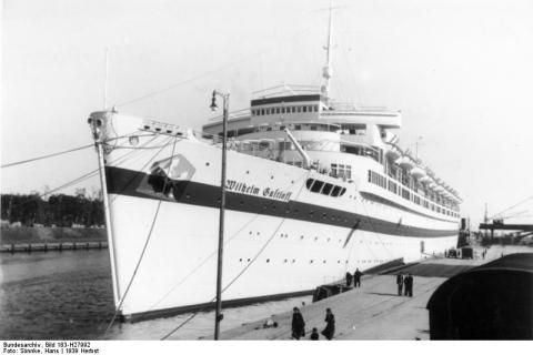 Wilhelm Gustloff:  Deadliest Shipwreck (Illustration) Film Geography World History Social Studies Tragedies and Triumphs World War II Famous Historical Events Disasters