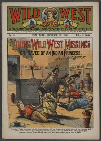 Stories of the Wild West - A Weekly for Children American History Nineteenth Century Life Legends and Legendary People
