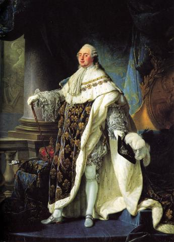 Louis XVI in 1788 Famous People Social Studies World History Visual Arts