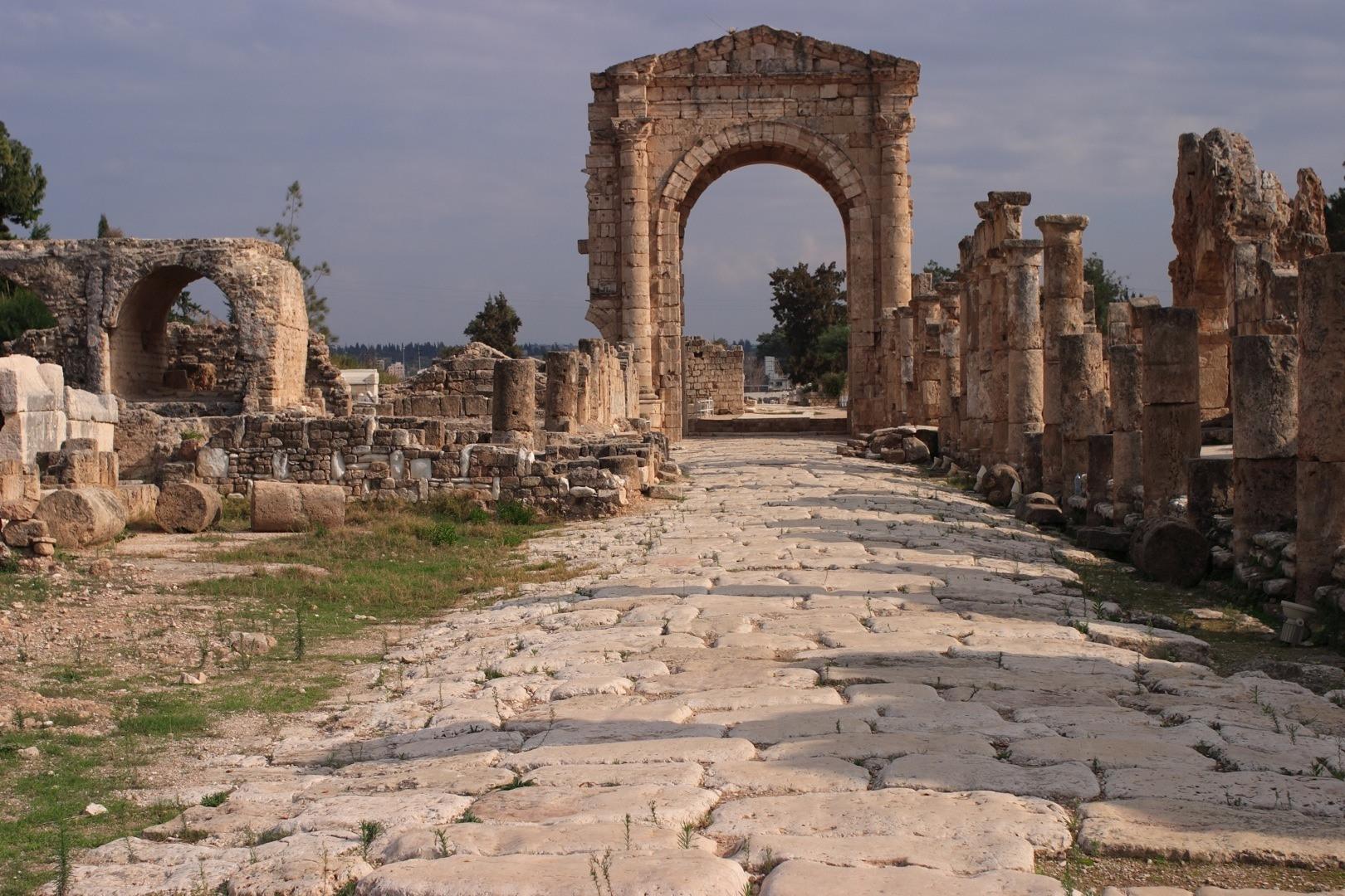 Ruins At Tyre