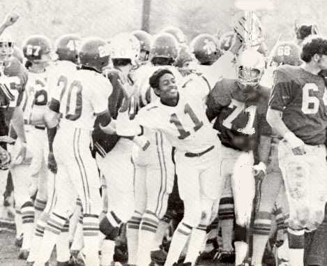 Celebrating A Win The Titans In 1971