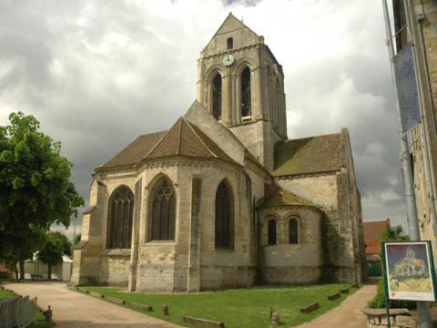 Church at Auvers - Actual Place Geography Social Studies Tragedies and Triumphs Visual Arts