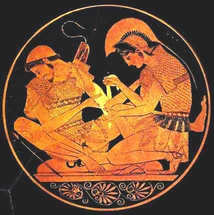 compare and contrast between achilles and