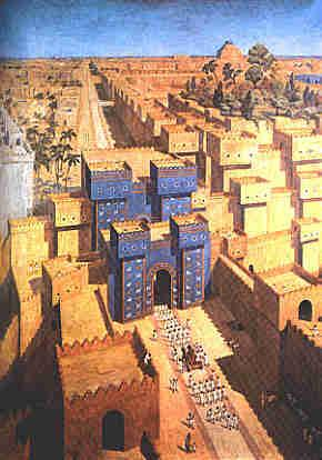 View of Ancient Babylon Ancient Places and/or Civilizations Archeological Wonders Geography World History