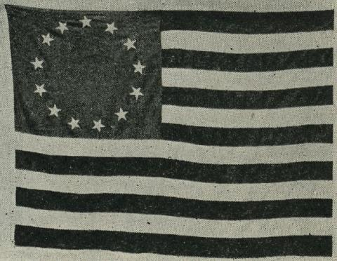 American Flag of 1792 - It Circumnavigated the Globe American History Biographies Geography Tragedies and Triumphs