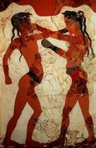 Ancient Boxing Mural