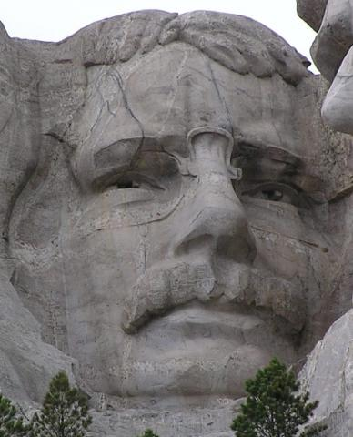 Roosevelt on Mount Rushmore