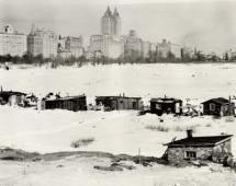 A Hooverville in New York's Central Park