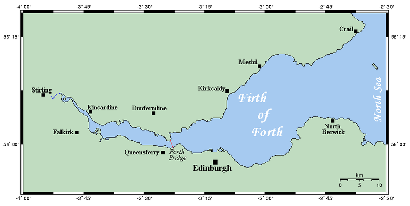 River Forth  Map