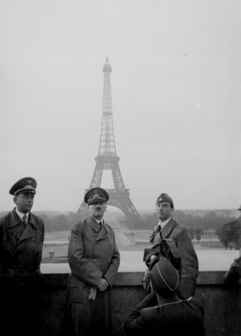 Hitler in Paris - June 23, 1940 Tragedies and Triumphs Famous Historical Events Famous People Geography History Social Studies World History World War II