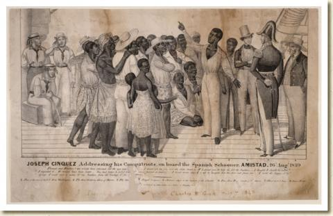 WHEN PEOPLE were CARGO (Illustration) American History African American History Civil Rights Law and Politics Nineteenth Century Life Slaves and Slave Owners Ethics Trials