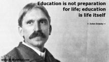 John Dewey Education Quote