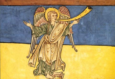 Seventh Angel of the Apocalypse Medieval Times Visual Arts World History Philosophy