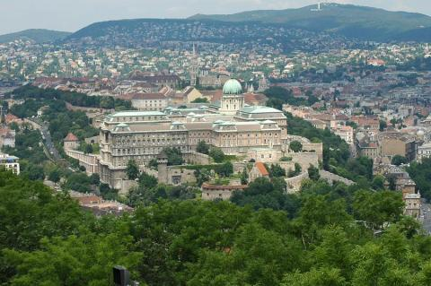 View of Buda - Left Bank Side of Budapest Ancient Places and/or Civilizations World History Geography