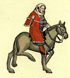 a look at the wife of bath and the prioress in canterbury tales