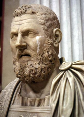 Bust of Emperor Pertinax Famous People Ancient Places and/or Civilizations Biographies Film Legends and Legendary People