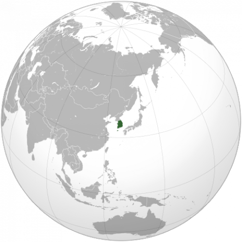 South korea on the world map south korea on the world map geography social studies world history gumiabroncs Choice Image