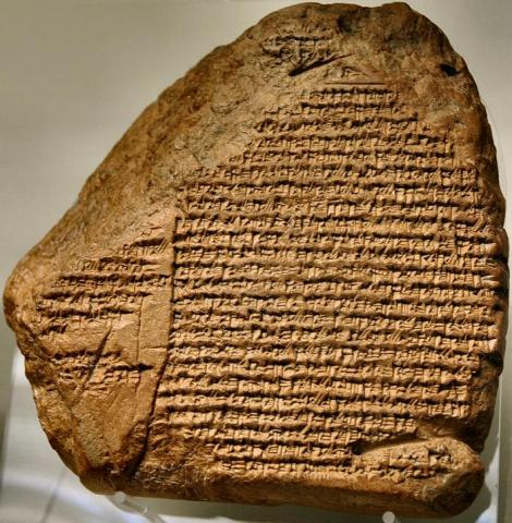 Nabonidus Chronicle - Example of Cunieform Writing Ancient Places and/or Civilizations Archeological Wonders