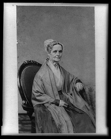 Suffragist - Lucretia Mott Nineteenth Century Life Civil Rights Famous People