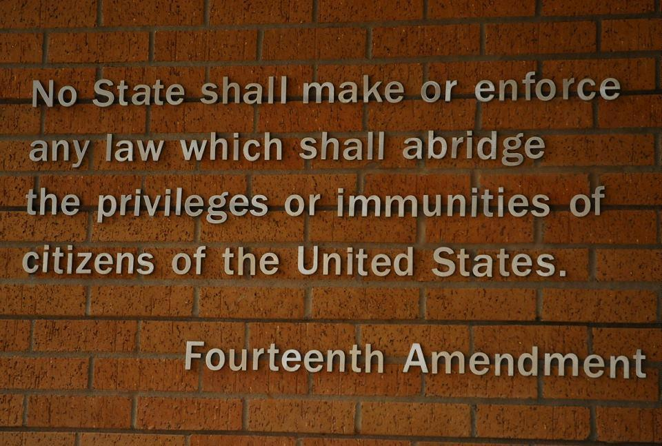 th amendment history   more informationdocuments related to brown v  board of education the  th amendment to the u s  constitution was ratified in       e  d   ab eb
