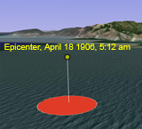epicenter of 1906 san francisco earthquake american history stem geography disasters