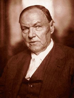 Clarence Darrow (Illustration) American History Famous People Trials Biographies