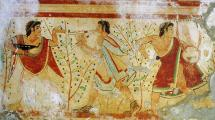 Etruscan Art from Tomb of the Leopards