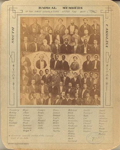 First Black Legislators - South Carolina, 1878 African American History American History Civil Rights Government Law and Politics Social Studies Tragedies and Triumphs
