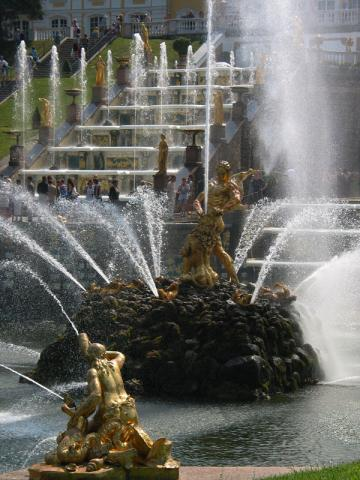 Stunning Fountains of the Summer Palace Geography Famous Historical Events Russian Studies Philosophy